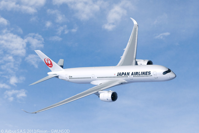 On October 7, 2013, Japan Airlines placed its first order with Airbus. The order was a large deal, with firm orders for 18 A350-900s and 13 A350-1000s and the airline taking options on another 25 unspecified A350 XWBs