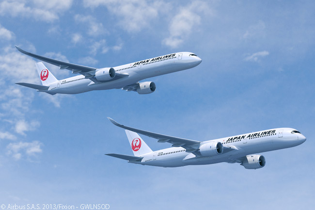 If Japan Airlines firms all 25 options it has taken on Airbus A350 XWB jets, its firm orders for the A350 XWB family will total at least 56 aircraft. Japan Airlines placed a firm order for 18 A350-900s and 13 A350-1000s