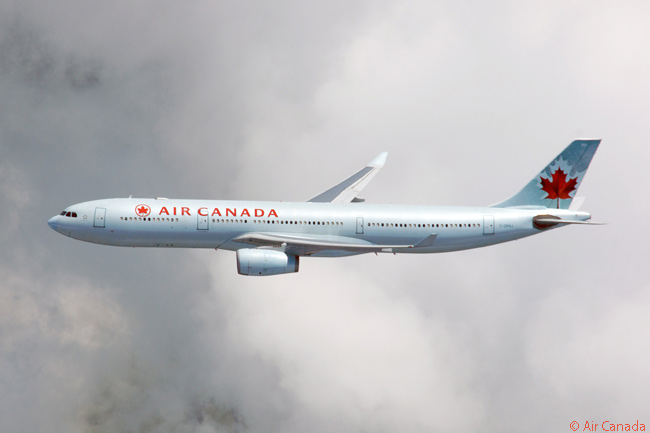 Air Canada has eight Airbus A330-300s in service