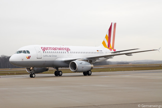 Germanwings, Lufthansa's low-cost airline subsidiary, operates a rapidly growing fleet of Airbus A320s and A319s. This is one of its A320s