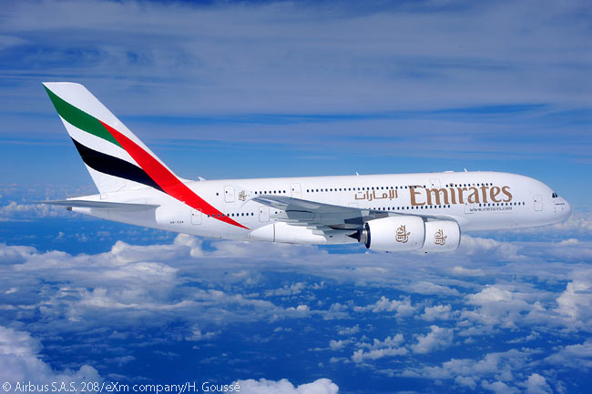 On November 17, 2013, at the first day of the Dubai Airshow 2013, Dubai-based Emirates Airline placed an additional order for 50 Airbus A380 superjumbos. The deal took Emirates total orderbook for the A380 to 140 aircraft, confirming its status as by far the largest customer for the widebody type