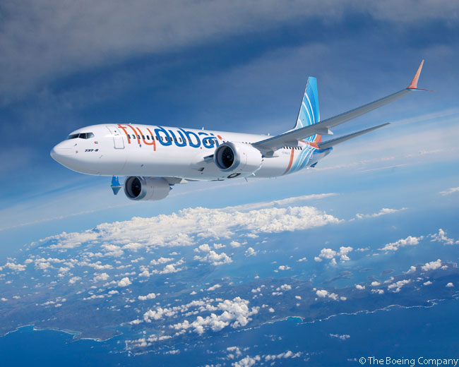 On November 17, 2013, on the first day of the Dubai Airshow 2013, locally based carrier Flydubai announced a commitment for up to 100 Boeing 737 MAX jets and 11 more 737-800s, to add to 50 Boeing 737-800s already in service or on order
