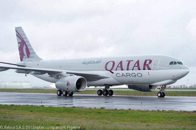 On November 17, 2013, Qatar Airways placed a firm order for five new-build Airbus A330-200 Freighter aircraft and took options on eight more. The new A330-200 Freighters are to join three already in service with the airline