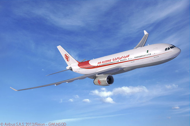 On November 19, 2013, Air Algérie signed a memorandum of understanding at the Dubai Airshow 2013 for three A330-200 passenger aircraft, as part of the carrier's continued growth plans. The carrier had previously ordered five A330-200s and had taken delivery of all of them
