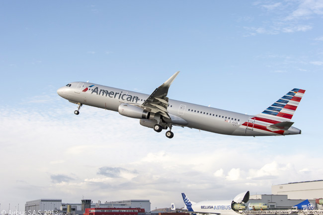 American Airlines is configuring its initial group of Airbus A321s specifically to operate its trunk transcontinental routes linking New York JFK with Los Angeles International Airport and San Francisco International Airport. The aircraft will be fitted with First, Business and Economy class cabins and the Economy cabin will also have extra-legroom Main Cabin Extra seating available