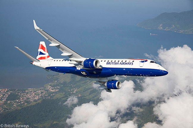 On November 26, 2013, British Airways ordered a ninth Embraer 190 for regional subsidiary BA CityFlyer. The aircraft would be the 15th for BA CityFlyer's all-Embraer E-Jet fleet