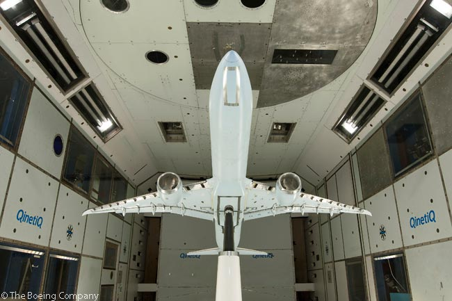 Boeing announced on December 9, 2013, that it had begun conducting low-speed wind tunnel tests of the baseline Boeing 777X design. Low-speed tests measure aircraft performance at a variety of high-lift surface settings, to simulate take-off and landing conditions