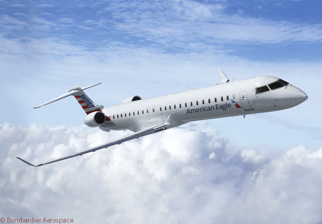 On December 12, 2013, three days after its merger with US Airways was consummated, American Airlines, Inc. placed an order for 30 Bombardier CRJ900 NextGen regional jets and optioned 40 more. The aircraft, to be configured for three seating classes and each to have 76 seats, would replace 50-seat regional jets operated by the American Eagle and US Airways networks, which would eventually be combined under the American Eagle name