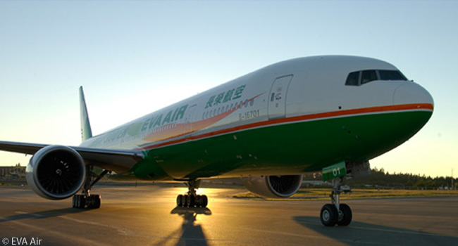 Taiwanese airline EVA Air has a total of 22 Boeing 777-300ERs in service and on order. By early 2014 all had been fitted with the airline's new Royal Laurel business/first class seats, each of which folds down into a flat-bed seat