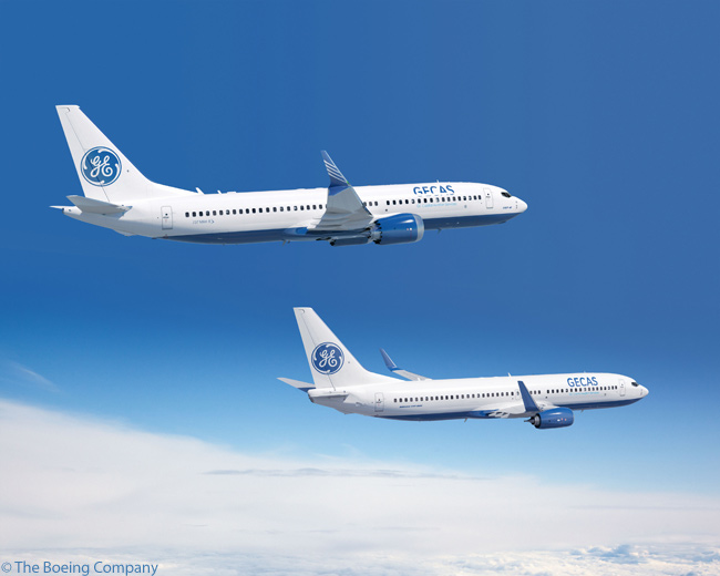 On January 20, 2014, Boeing confirmed that leasing company GE Capital Aviation Services was the previously unannounced customer for a 2013 order for 20 Boeing 737 MAX 8s and 20 Boeing 737-800s. GECAS had already placed previous orders for both models