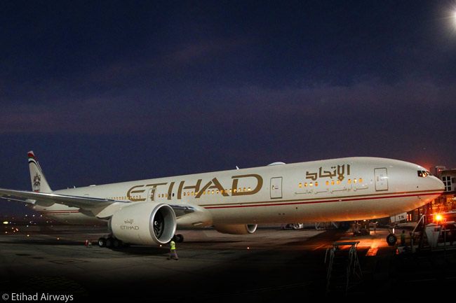The Boeing 777-300ER is one of Etihad Airways' most important long-haul aircraft types. The airline has a total of 30 in service and on order