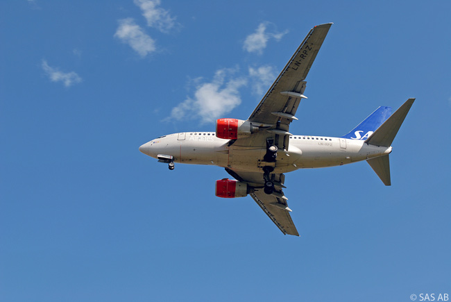 Scandinavian Airlines is one of the few operators of the Boeing 737-600 and is possibly the largest operator of the type, with 27 in service in early 2014