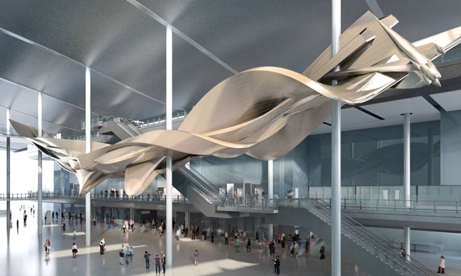 Slipstream CGI © Richard Wilson / Courtesy of LHR Airports Limited