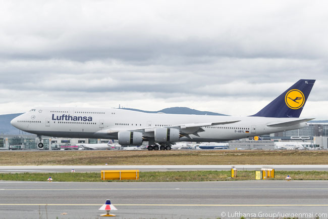 Lufthansa is one of only a handful of airlines to order the Boeing 747-8 Intercontinental, the passenger version of the Boeing 747-8, by 2014. With its fuselage stretched by approximately 30 feet compared with earlier 747 versions, the 747-8 is the longest airliner ever to enter commercial service. As of 2014, the short-upper deck freighter had proved a better seller than the 747-8I