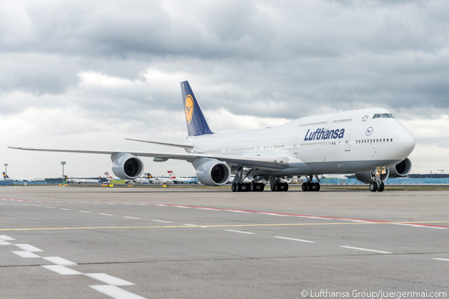 The Boeing 747-8 Intercontinental is the latest widebody aircraft type to joint Lufthansa's fleet. It remains the airline's newest widebody type until Lufthansa begins receiving Airbus A350-900s in 2016