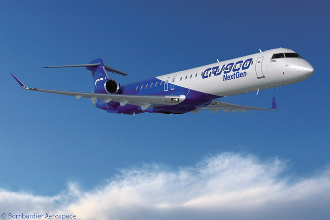 On February 11, 2014, on the first day of the Singapore Airshow 2014, Bombardier Aerospace announced that an unidentified customer had signed a letter of intent to order up to 12 CRJ900 NextGen regional jets