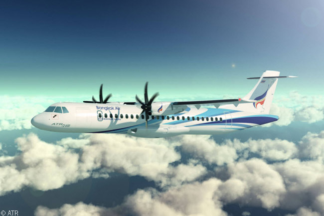 On February 12, 2014, at the Singapore Airshow, Bangkok Airways announced an order for eight ATR 72-600 turboprops to replace its eight existing ATR 72-500s