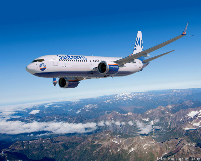On February 19, 2014, Turkish carrier SunExpress placed a fleet-replacement order for 25 Boeing 737-800s and 15 Boeing 737 MAX 8s, optioning 10 more 737 MAX 8s at the same time