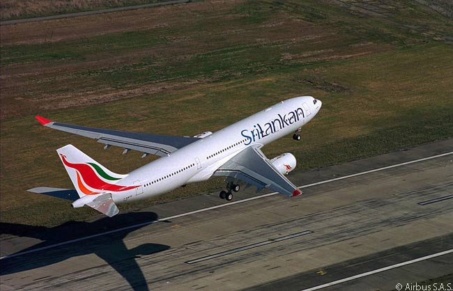 SriLankan Airlines operates seven Airbus A330-200s and also is taking delivery of six A330-300s, which replace A340-300s in the carrier's fleet. SriLankan also has seven Airbus A350-900s on order and operates a single-aisle fleet of Airbus A320s and A321s