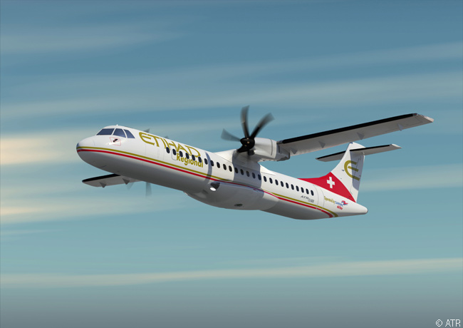 After Etihad Regional announced on March 13, 2014 that it would lease four used ATR 72-500s from Nordic Aviation Capital to expand its fleet, which until then conissted of eight Saab 2000s, ATR released a computer graphic image of an ATR 72-600 in Etihad Regional colors. This fueled speculation that Etihad Regional would order or lease new ATR 72-600s to replace its Saab 2000s over time or to expand its fleet further
