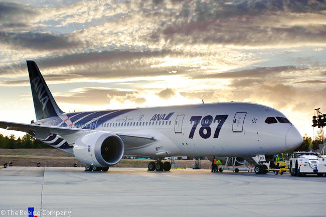 Boeing completed the ceremonial delivery of the first 787 Dreamliner to a customer on September 26, 2011, when Japanese carrier ANA took delivery of its first Boeing 787-8. The aircraft was painted in a special new ANA livery to mark the occasion