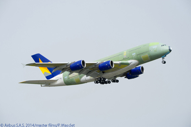 By mid-2014 Skymark Airlines had ordered six Airbus A380s. It was the first airline in Japan to order the superjumbo passenger jet