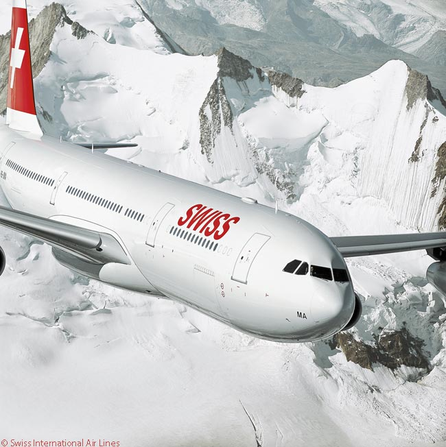 Until Swiss International Air Lines takes delivery of six new Boeing 777-300ERs from 2016, the Airbus A340-300 is the largest aircraft in its fleet in terms of gross take-off weight
