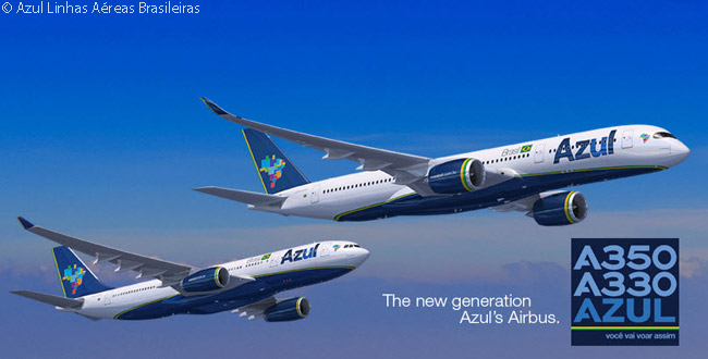 On April 23, 2014, Azul Linhas Aéreas Brasileiras announced it would lease six Airbus A330-200s and five A350-900s from ILFC to develop a long-haul route network between Brazil and the United States