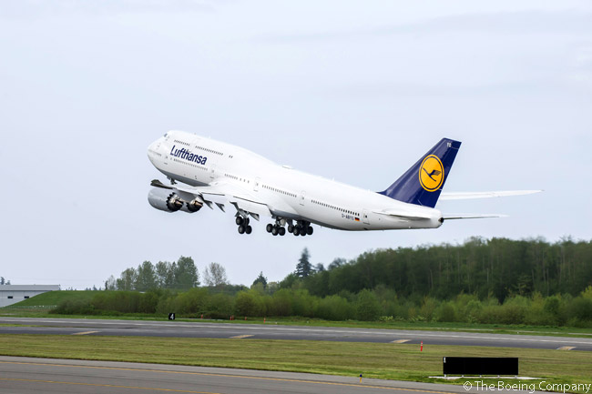 Lufthansa took delivery of its 75th Boeing 747, a 747-8 Intercontinental, on April 30, 2014. The aircraft was the 13th Boeing 747-8I for Lufthansa, out of 19 ordered by the airline as of mid-2014