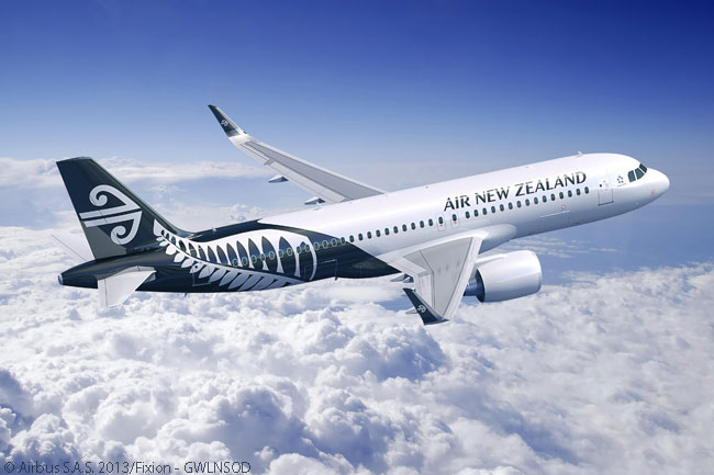 Air New Zealand placed its first order for the Airbus A320neo family on June 2, 2014, ordering 10 A320neos and three A321neos. The airline also ordered an additional A320ceo to add to 14 in service