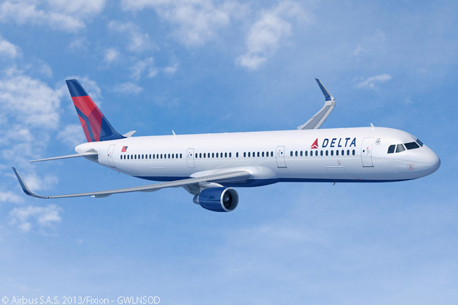 On June 2, 2014, Delta Air Lines ordered 15 more Airbus A321s fitted with Sharklets to replace older single-aisle aircraft in its fleet. The airline had previously ordered 30 A321s on September 4, 2013, also for replacement of older aircraft
