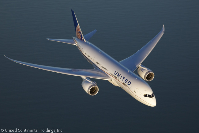 Although United Airlines only had 19 Boeing 787-8s in service and on firm order by mid-2014 (along with 26 787-9s and 20 787-10s), it held options on 35 more 787s and this could boost its fleets of all three versions within a few years, if desired