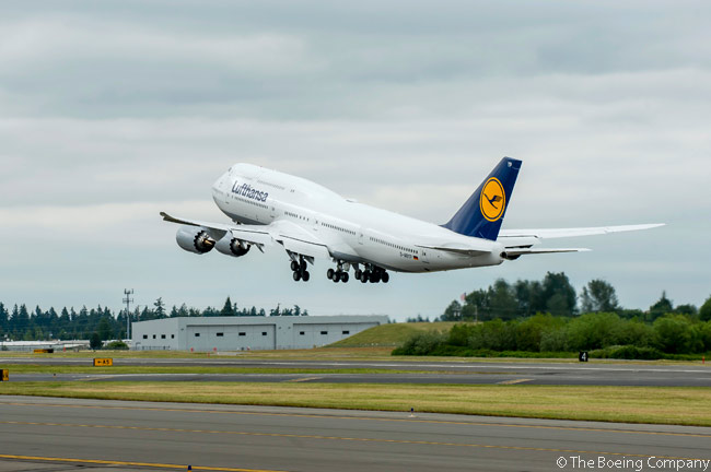 On June 28, 2014, Lufthansa took delivery of the 1,500th Boeing 747 to be produced. The aircraft was the 14th of 19 Boeing 747-8 Intercontinental passenger jets ordered by the German carrier