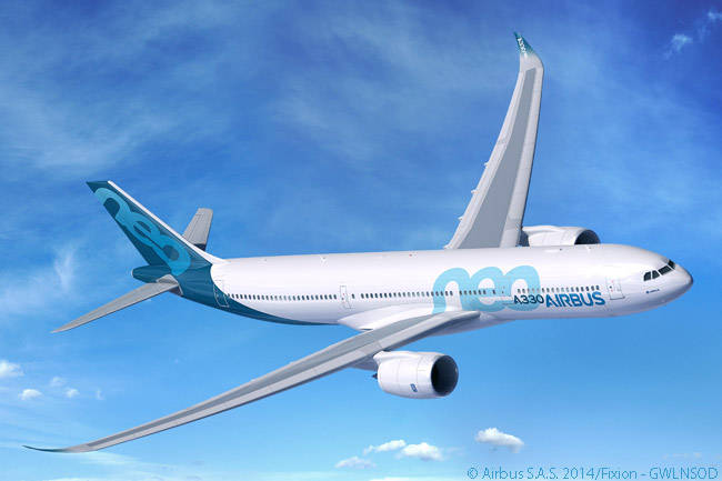 The Airbus A330-900neo is the larger of the two A330neo-family models. Both A330neo models are powered by Rolls-Royce Trent 7000 engines, the Trent 7000 being the seventh model in the Trent family. According to Airbus, A330neo jets are 14 per cent more fuel-efficient than their immediate predecessors, the A330-300 and the A330-200