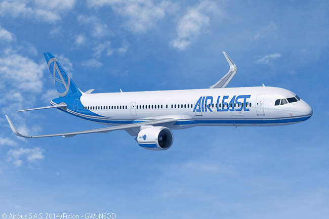 Along with its July 14, 2014 memorandum of understanding for 25 Airbus A330-900neo widebodies, Aircraft Lease Corporation simultaneously announced a firm order for 60 Airbus A321neo single-aisle jets. In March 2015, ALC increased its A321neo order to 90 aircraft, by ordering 30 of the new, long-range A321LR version