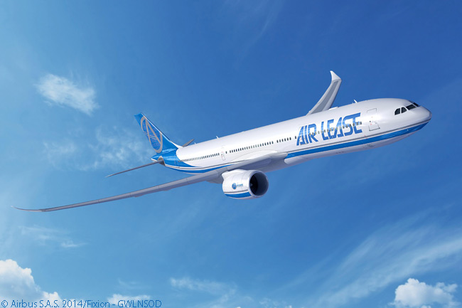 On July 14, 2014, on the first day of the Farnborough International Airshow, Los Angeles-based leasing company Aircraft Lease Corporation announced a memorandum of understanding for 25 Airbus A330-900neo widebodies, becoming the first launch customer for the newly launched A330neo family. ALC firmed the order on March 9, 2015