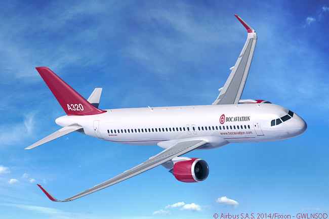 The BOC Aviation order for 43 Airbus A320-family jets announced on July 15, 2014 at the Farnborough International Airshow included seven A320neo-family jets, including both A320neos and A321neos