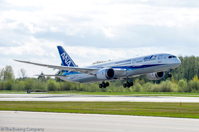 On July 29, 2014, All Nippon Airways became the second customer (following Air New Zealand) to take delivery of a Boeing 787-9, when Boeing handed over the first of 30 787-9s ordered by the Japanese airline