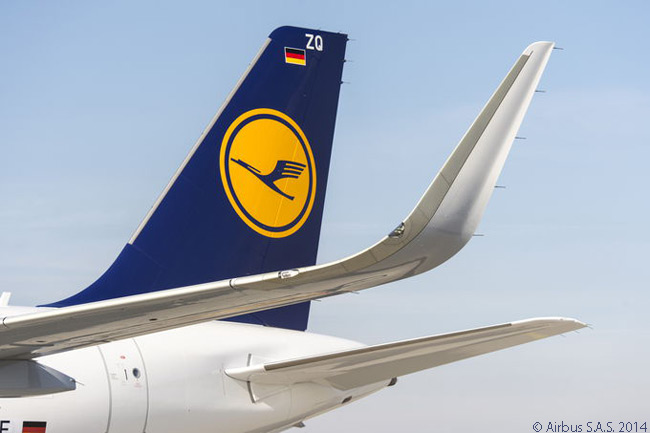 Lufthansa Group is Airbus' biggest airline-group operator. It is also Airbus' biggest airline customer, with more than 580 aircraft purchased. Lufthansa Group operates one of the largest Airbus A320-family fleets in the world, with almost 300 A320-family jets in service at group carriers