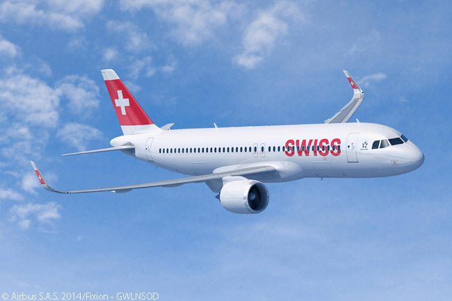 On September 17, 2014, Lufthansa Group's supervisory board announced that Swiss International Air Lines would order 15 Airbus A320neos and secure commitments on 10 more, with a firm order for the additional aircraft to be confirmed at a later date