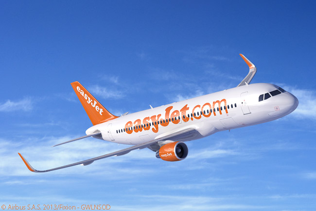 On September 18, 2014, easyJet placed a follow-on order for 27 Airbus A320ceo jets, citing a need for more capacity to take advantage of near-term service opportunities in its core markets. The order may have represented conversion of 27 of 35 options on A320s that easyJet had acquired when it ordered 35 A320s, as well as 100 A320neos, in July 2013