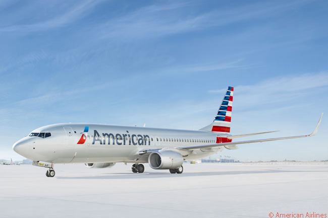 American Airlines has a total of 306 Boeing 737-800s in service and on order. The airline has also ordered 10 Boeing 737 MAX jets and optioned another 60