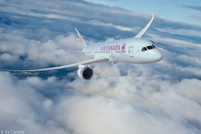 Air Canada was the third North American airline to introduce the Boeing 787 into service, after United Airlines and AeroMexico