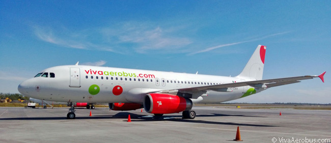 VivaAerobus is leasing some of its Airbus A320s, such as this Irish-registered example, which was one of the first A320s to be operated by the Mexican carrier