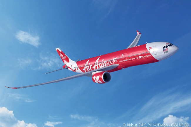 On December 15, 2014, long-haul low-cost carrier AirAsia X signed a firm order for 55 Airbus A330neo jets, firming a previous memorandum of understanding for 50 aircraft and adding five more to the overall order