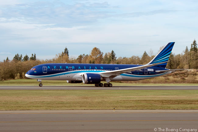 On December 23, 2014, Azerbaijan Airlines took delivery of its first Boeing 787 Dreamliner, becoming the first airline in the Commonwealth of Independent States to operate the 787