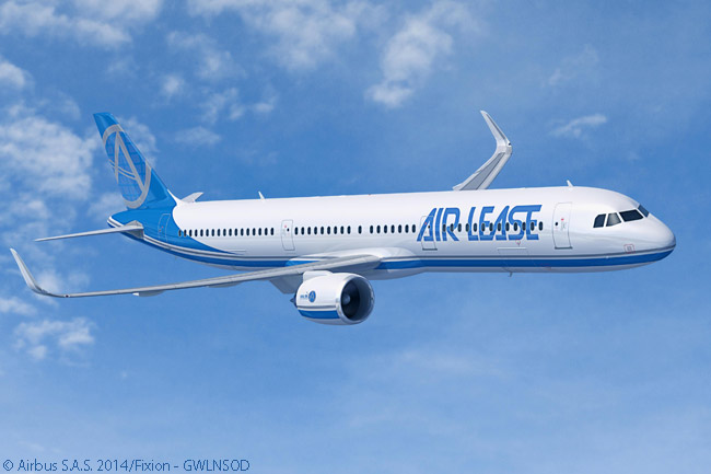 On January 13, 2015, Airbus announced that Air Lease Corporation had signed a memorandum of understanding to order 30 more Airbus A321neo jets to add to 60 for which it had previously signed an MOU. The 30 additional aircraft would be of a new version with its take-off weight increased to 97 tonnes, providing a range of 4,000 nautical miles. Airbus officially launched the A321neo 97t on January 13 as a result of ALC's commitment and ALC firmed the order on March 9, 2015