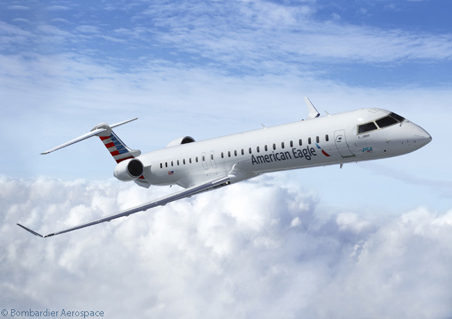 On February 9, 2015, American Airlines announced it would allocate to subsidiary PSA Airlines 24 Bombardier CRJ900 NextGen regional jets it ordered on December 30, 2014. The aircraft would join 77 Bombardier CRJ-Series regional jets already in service with PSA, flying on the American Eagle network