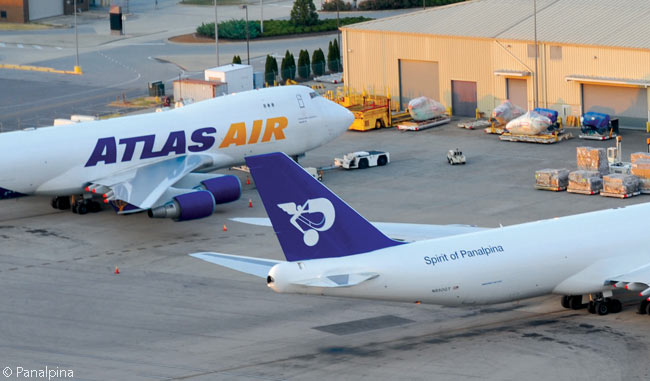 Panalpina and Atlas Air have worked closely with each other for years, the Basel-headquartered logistic company using wet-leased Atlas Air Boeing 747-8Fs and chartered 747-400Fs to operate parts of its own 'Controlled Air Freight Network'