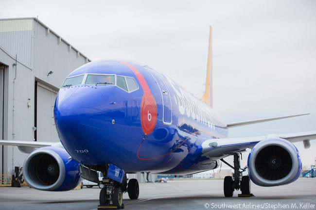All onboard Wi-Fi-enabled aircraft in the Southwest Airlines fleet began offering the Beats Music service on November 3, 2014